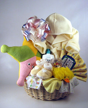 Baby Bath Time Gift Basket