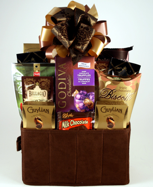 Everything Chocolate Kosher Gift Basket