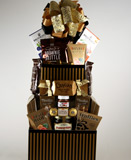 Gourmet Kosher Tower Gift Basket