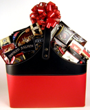 Deluxe Magazine Tote Gift Basket
