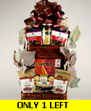 Purim Stacked Treasures Kosher Holiday Gift Basket
