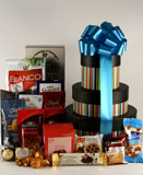 Stacked Abundance Gift Basket